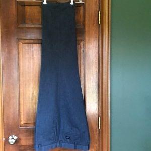 2 Dockers men's grey slacks W40 L32